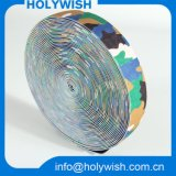 Подгонянная тесемка бархата декоративного вязания крючком ткани эластичная
