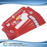 Rectángulo cosmético de empaquetado pila de discos plano barato impreso del té del plegamiento (xc-pbn-004)
