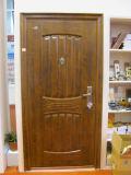 Diseños de acero de la puerta de la seguridad exterior de Yongjie
