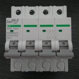 выключатель DC автомата защити цепи DC 4p миниатюрный Non поляризовыванный с сертификатами TUV от 1A к 63A