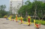 Crianças gangorra para equipamento de montagem exterior popular no Parque e Jardim de Infância