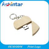 De houten Stok van de Vorm USB van het Hart van Pendrive Thumbdrive van het Geheugen USB