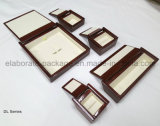 Contenitore di legno solido di pacchetto dei monili della pittura della lacca