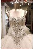 Ослеплять Beaded Bridal платья 2017 венчания PLD3206