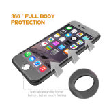 360 도 전면 커버 강화 유리를 가진 방어적인 호리호리한 단단한 PC 셀룰라 전화 상자, 더하기 iPhone 6s/iPhone 7을%s 셀룰라 전화 상자