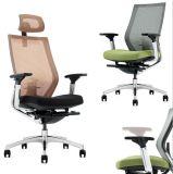 Белый стул сетки ткани зеленого цвета структуры (Hx-Ncd475