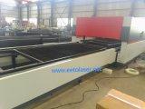 700W Ipg Faser-Laser-Ausschnitt-Maschine mit doppeltem Tisch