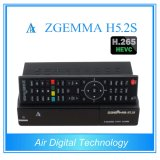 Novo Produto Digital Broadcast Equipment Twin Tuner DVB S2 Suporte H. 265 Decoding Zgemma H5.2s