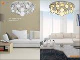 Lámparas decorativas Om66152 de la venta del diseño simple de las lámparas pendientes de las lámparas calientes LED de la dimensión de una variable redonda LED