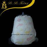 Con suave algodón de alta absorción Fabricante Babydiaper desechables