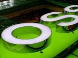 アクリル3Dおよび製造されるステンレス鋼は文字の印に文字を入れる