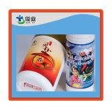 Étiquettes adhésives en plastique d'Iml dans des bouteilles de soufflement pour le shampooing, épierreuse