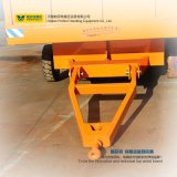 Funzionamento a bassa velocità sulle rotaie con il rimorchio di trasporto di industria pesante
