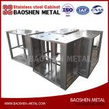 カスタマイズされたステンレス鋼304のシート・メタルフレームの製造によって機械で造られるコンポーネント