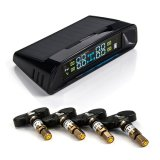 自動車部品のタイヤ空気圧の監視システムの太陽エネルギーTPMS Ajustable圧力アラーム値