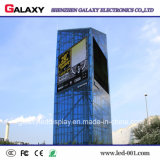 Pantalla de visualización video al aire libre de pared de SMD LED P8/P10/P16 para Adveritising