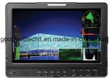 이중 3G HD Sdi에 의하여 입력되는 이음새가 없는 스위치를 가진 IPS 10.1 인치 LCD 모니터