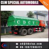 6X4 20mt Gancho de elevación Gabage contenedor de camiones Desmontable Colector de basura