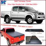 Hiluxビゴの二重タクシー1.52mのベッド2005+のための熱い販売のカスタム引き込み式のトノー