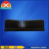 Forte dissipatore di calore dell'aletta del radiatore di figura di alluminio della torretta