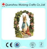 Migliore decorazione del Figurine del coniglietto di pasqua dei regali di festa della molla della resina di vendita