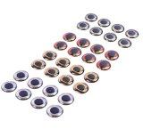 les yeux de pêche de la simulation 4D pêchant l'attrait observe l'accessoire en plastique de pêche de palan de pêche de yeux de pêche