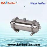 Esterilización del acero inoxidable del purificador del agua de la ultrafiltración peculiar