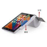 2 Touchable Bildschirme bewegliche Positions-androide intelligente Positions-am Endeeinheit PT7003 mit Kartenleser des Barcode-Scanner-NFC MIFARE