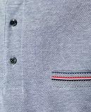 T-shirt de polo de collier du stand des hommes