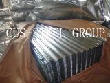 Perfil revestido del revestimiento del cinc de Somalia Djibouti/hoja de acero del material para techos del hierro
