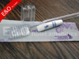 Hôtel bon marché clair jetables Brosse à dents avec du dentifrice