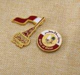 Emblema conhecido do metal feito sob encomenda rápido do fornecedor do serviço do feedback