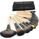 Ensemble de brosses de maquillage professionnel 24PCS Ensemble Outils de maquillage Kit de cosmétique à brosse à cheval avec sac