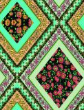 Heißes verkaufendes neues Entwurfs-Blumendrucken-Silk Gewebe für die Kleid-Herstellung