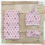 All-Over Printing Baby Wear Gots Baby Blanket Set