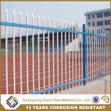 高品質の錬鉄の庭の金属の囲うか、または電流を通された鉄の塀のパネル