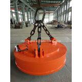 Elettro magnete di sollevamento circolare di CC per gli scarti di sollevamento