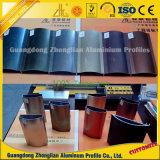 Het aangepaste Uitgedreven Geanodiseerde Profiel van het Aluminium van het Meubilair voor Decoratie Furnitures