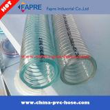 Heiße Verkäufe! Transparenter Plastik-Belüftung-Stahldraht-Schlauch