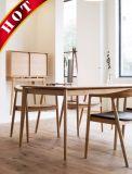 Ensemble de table de salle à manger en bois moderne moderne en hêtre