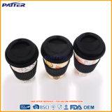 Taza de café de bambú modificada para requisitos particulares alta calidad de la fibra