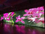 Parete piena di colore LED di potere basso video fatta con il modulo economizzatore d'energia di P10 LED