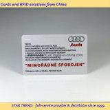 Tarjetas en la tira magnética de Hico de la tarjeta de la tarjeta de plata del VIP