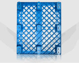 Решетка HDPE паллета 1200*1000*140mm Logisticis пластичная штабелируя 9 футы пластичного подноса для продуктов пакгауза