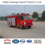 6ton Isuzu Espuma Tender Vehículo de extinción de incendios Euro3