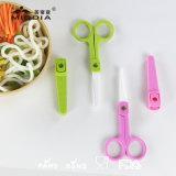 I prodotti del bambino per il supplemento dell'alimento di ceramica Scissor con il fodero