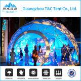Prefab низкой стоимости Китая дома геодезический купола расквартировывает полуфабрикат парники и виллы стеклоткани