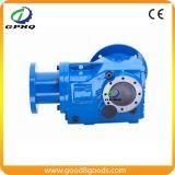 Motor de engrenagens helicoidais com redutor cônico