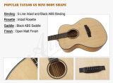 Гитара Taylor GS перемещения сбывания тавра Aiersi горячая миниая акустическая