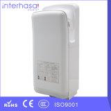 Сушильщик руки воздуха двигателя ванной комнаты фильтра HEPA автоматический электрический высокоскоростной двойной